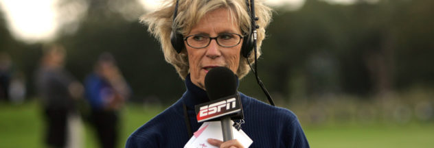 Judy Rankin commentating